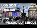 ⁴ᴷ LONDON TOUR | Walking around Piccadilly Circus, England | COD MAP🎖️