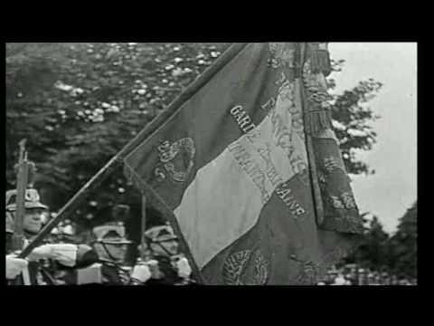 Sultan Mohammed V en juin 1945