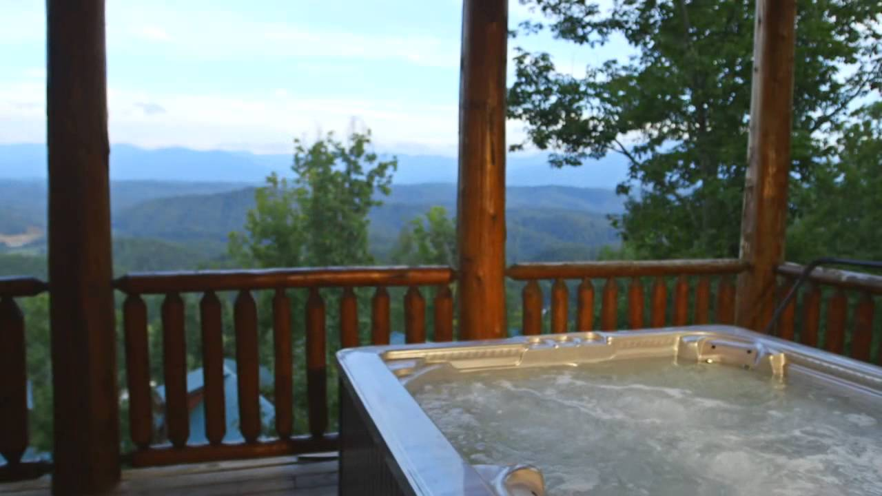 mountain rentals cabin nc tn city cabins smoky great log mountains townsend rental bryson secluded