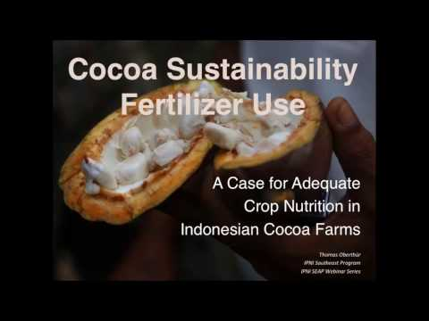 IPNI Webinar Series: A Case for Adequate Crop Nutrition in Indonesian Cocoa Farms
