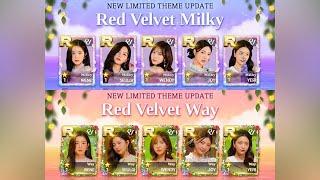 [SuperStar SM] Buying 'Milky Way' R Packs & New Red Velvet Background!