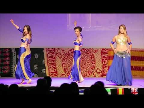 Danse orientale débutant GALA 2015 avec Marseille Danse Academy