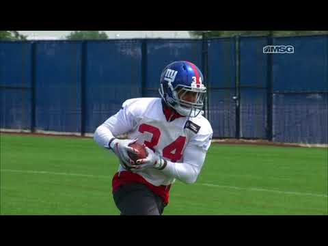 Sizing Up the Running Back Competition | New York Giants | MSG Networks