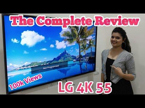 LG 55 inch Ultra HD (4K) LED Smart TV Full Honest Review #smarttv #lgtv