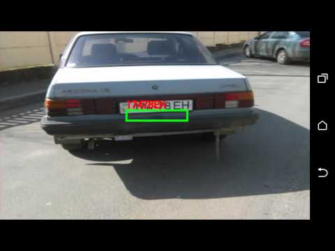 Realtime Automatic Number Plate Recognition (ANPR) on Android