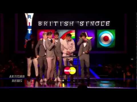 BRIT AWARDS: ADELE CUT OFF, GIVES FINGER, ONE DIRECTION WINS BEST SINGLE