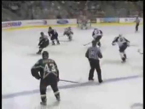 Sergei Zubov dishes it to Jere Lehtinen who scores vs Predators (2006) 20c6763a4