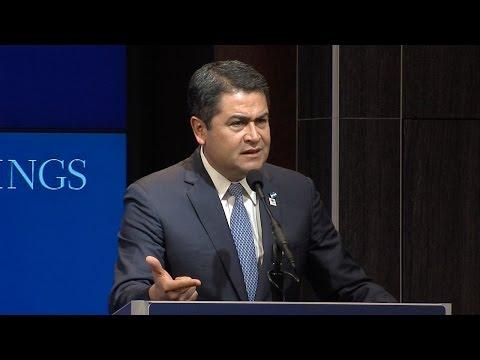 A conversation with President Juan Orlando Hernández of Honduras (Spanish)