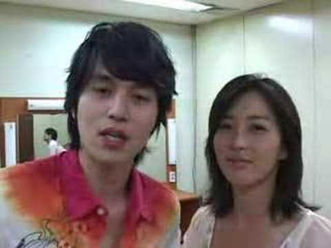 Lee Dong Wook and Song Yun Ah