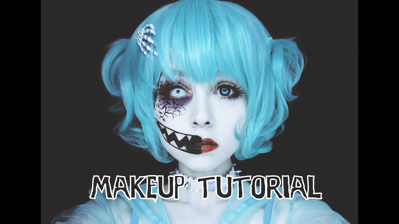 creepycute makeup tutorial youtube