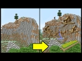 Minecraft Tutorial: How To Make A Mountain Town