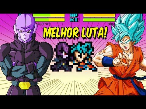 DRAGON BALL DEVOLUTION, TORNEIO DE CHAMPA, HITTO VS GOKU BLUE + KAIOKEN !