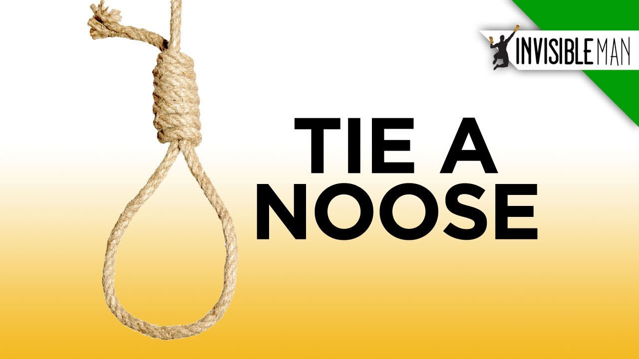 Easy steps to the perfect hangmans noose invisible man youtube ccuart Image collections