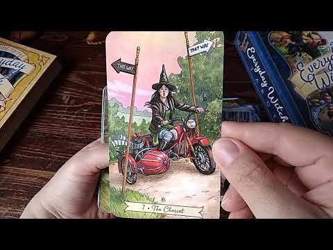 Таро Ведьмы на каждый день, обзор колоды / Everyday Witch Tarot  (субтитры на русском / Ru Sub)