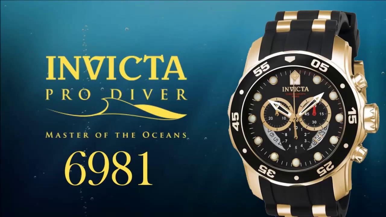05f2f9e683d Relógio Invicta 6981 PRO DIVER