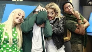 Rita Ora vs Melvin in the Pet Name Playoff at Kiss FM (UK)