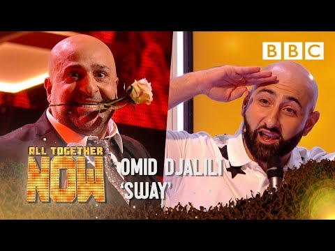 Singing Dentist Milad sees his future in Omid Djalili's SWAY - All Together Now | Celebrities