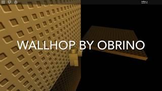 Wallhop - Obrino ROBLOX