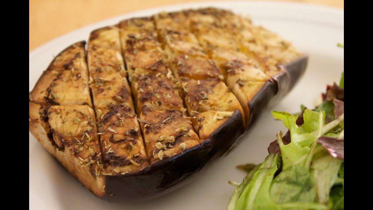 Ben noto Ricetta facile vegana: Melanzane al forno aromatizzate all'origano  VE15