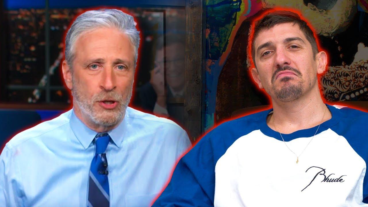 Download Schulz reacts: Jon Stewart EMBARRASSES Stephen Colbert on Lab Leak Theory | Flagrant 2