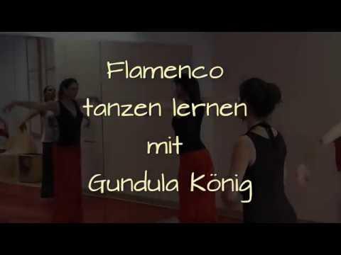 Flamenco tanzen lernen mit Gundula König (La Reina - Flamenco Hamburg)