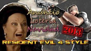 Anuncio Lotería de Navidad 2013 Resident Evil 4 Style