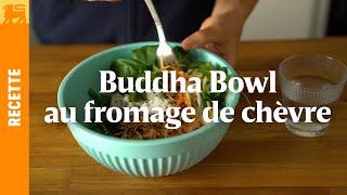 Buddha Bowl au fromage de chèvre