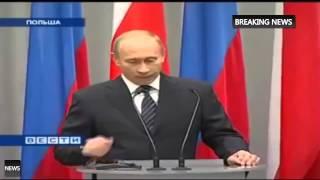 ЖЕСТОК!! Сегодня Владимир Путин поставил на место Польшу! 2015 mp4