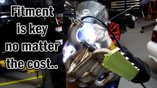 homepage tile video photo for cutting up and welding a brand new $1500 turbo manifold DIY