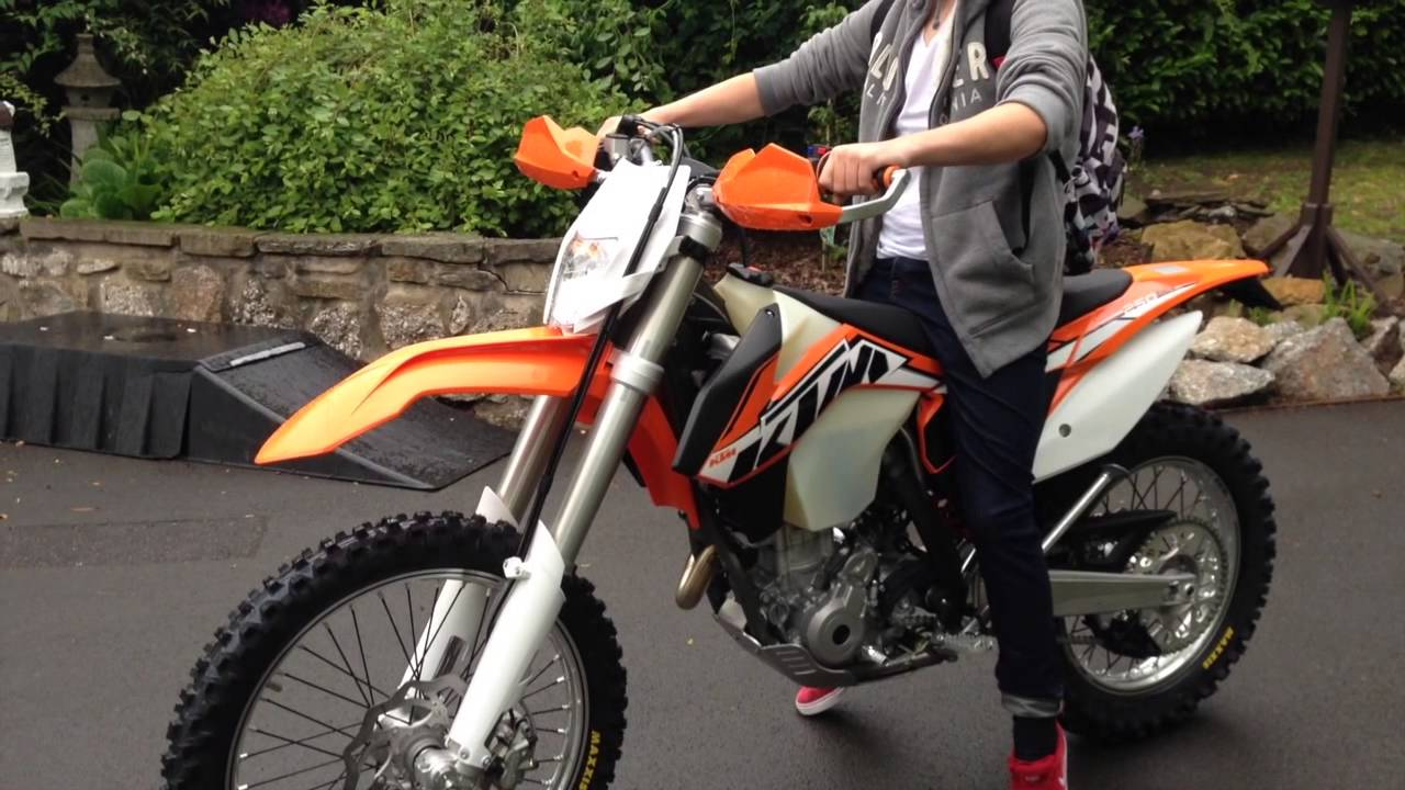 2014 Ktm 250 Exc F First Ride Youtube