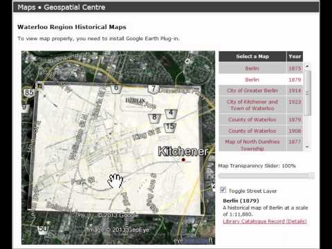 Waterloo Region Historical Interactive Map