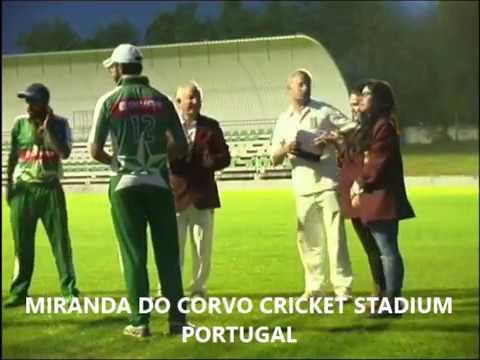 TRI-NATIONS CRICKET CUP. Trophy Ceremony in Portugal (May 2016)