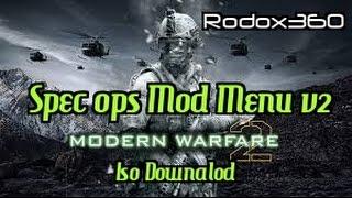 Call of Duty: Modern Warfare 2 - Spec ops Mod Menu v2 + Iso Download