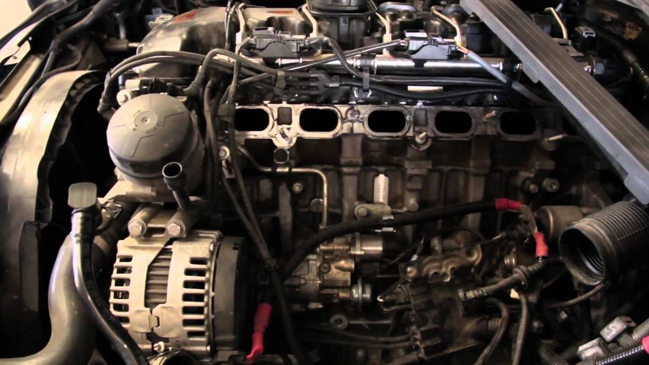 335I BMW Intake Valve Cleaning with Walnut Shell Blasting