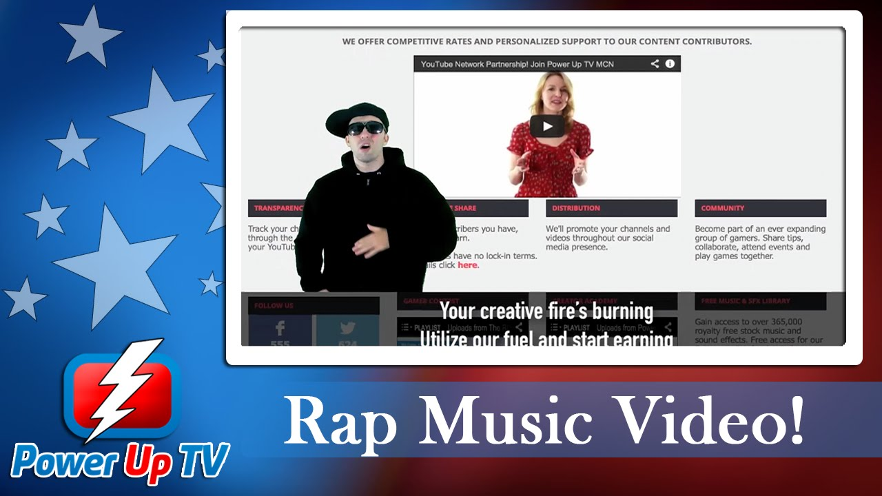 Power Up Your Views - YouTube MCN Rap Song Music Video 2014