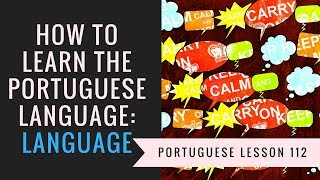 how to learn portuguese (language)