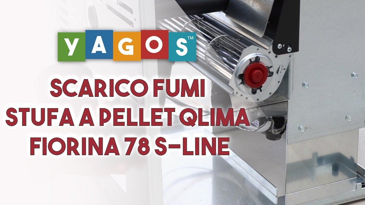 Installazione Scarico Fumi Stufa A Pellet Qlima Fiorina 78 S Line Yagos