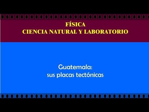 Guatemala:  sus placas tectónicas