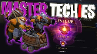 THE MASTER TECHIES - DotA 2 Funny Moments