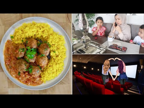 Hazara Family Vlog| Monday Hang Out with Friends// MeatBalls with PLAIN Rice FOR DINNER.