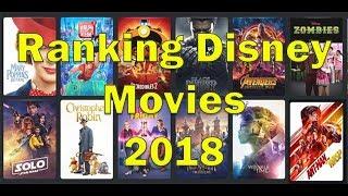 Ranking All 12 Disney Films of 2018