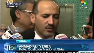 Syrian opposition has not defined its attendance to Geneva II