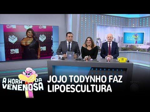 Jojo Todynho fica de repouso após lipoescultura