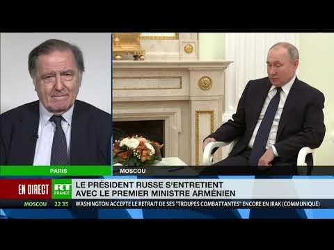 Visite du Premier ministre arménien en Russie :«Il est venu chercher le soutien de Vladimir Poutine»