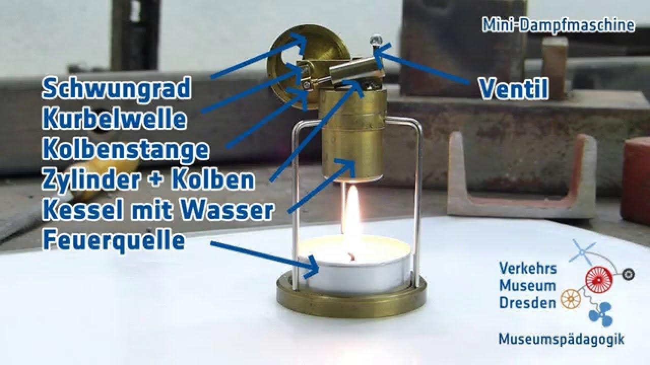 Mini Kühlschrank Dresden : Mini dampfmaschine youtube