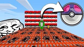 lo trolleo y esta fue su reaccin   minecraft lucky blocks mod pixelmon