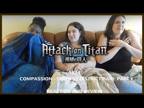 Attack on Titan 1x24 Reaction and Review
