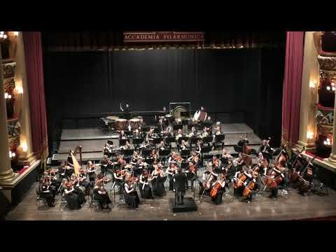 Концерт Симфонического оркестра МГИМ им. А.Г. Шнитке в Вероне, 1 отделение