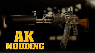 AK, AKS, AKM modding / how I mod AK's / PRO TIPS - Escape from Tarkov
