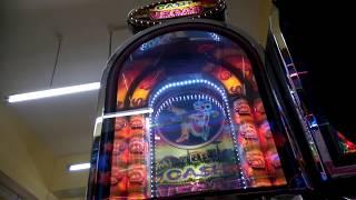 ASTRA CASH VEGAS - RETRO FRUIT MACHINE - 10p PUSHER - uk arcades - WSM -2017